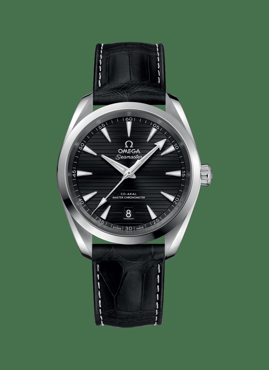 Omega – Seamaster – Aqua Terra 150 M Co‑Axial Master Chronometer 38 mm - Wagner Bijouterie Uhren