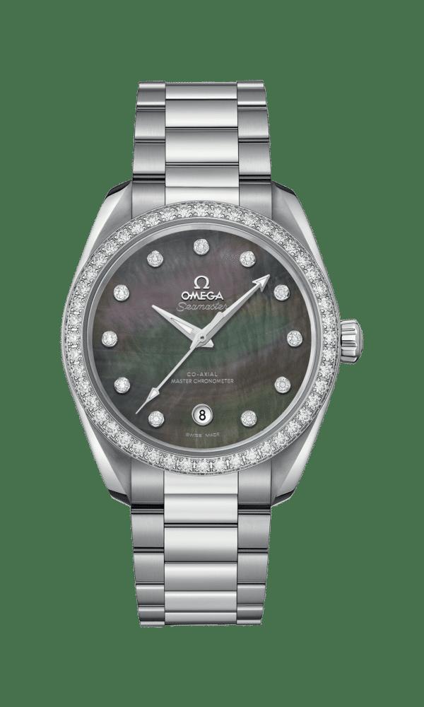 Omega – Seamaster – Aqua Terra 150 M Co‑Axial Master Chronometer Ladies' 38 mm - Wagner Bijouterie Uhren