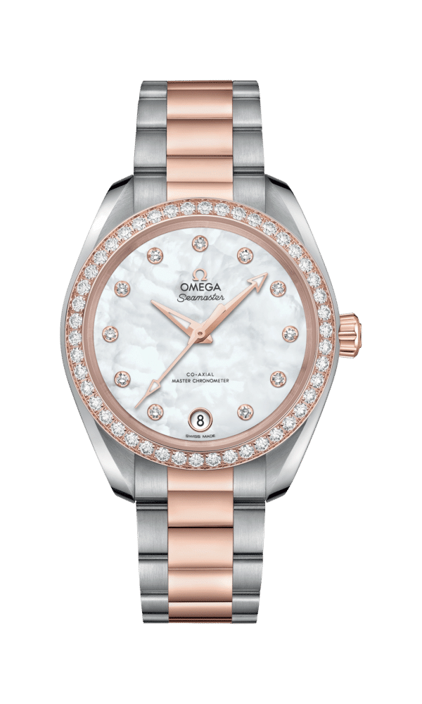 Omega – Seamaster – Aqua Terra 150 M Co‑Axial Master Chronometer 34 mm - Wagner Bijouterie Uhren