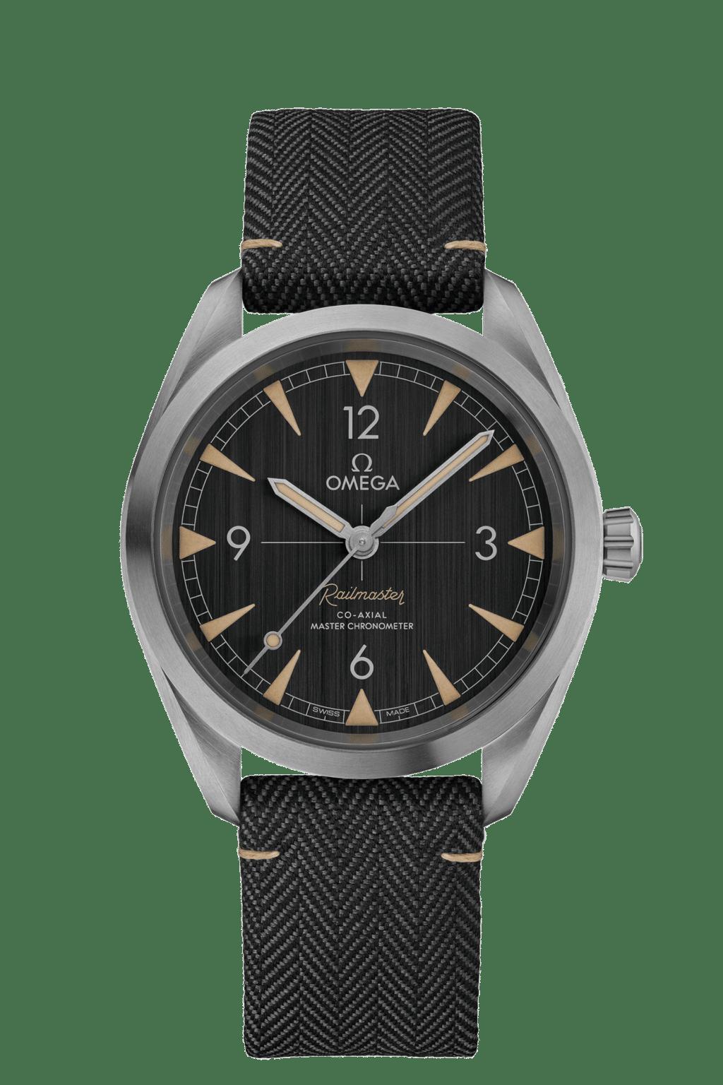Omega – Seamaster – Railmaster Co‑Axial Master Chronometer 40 mm - Wagner Bijouterie Uhren