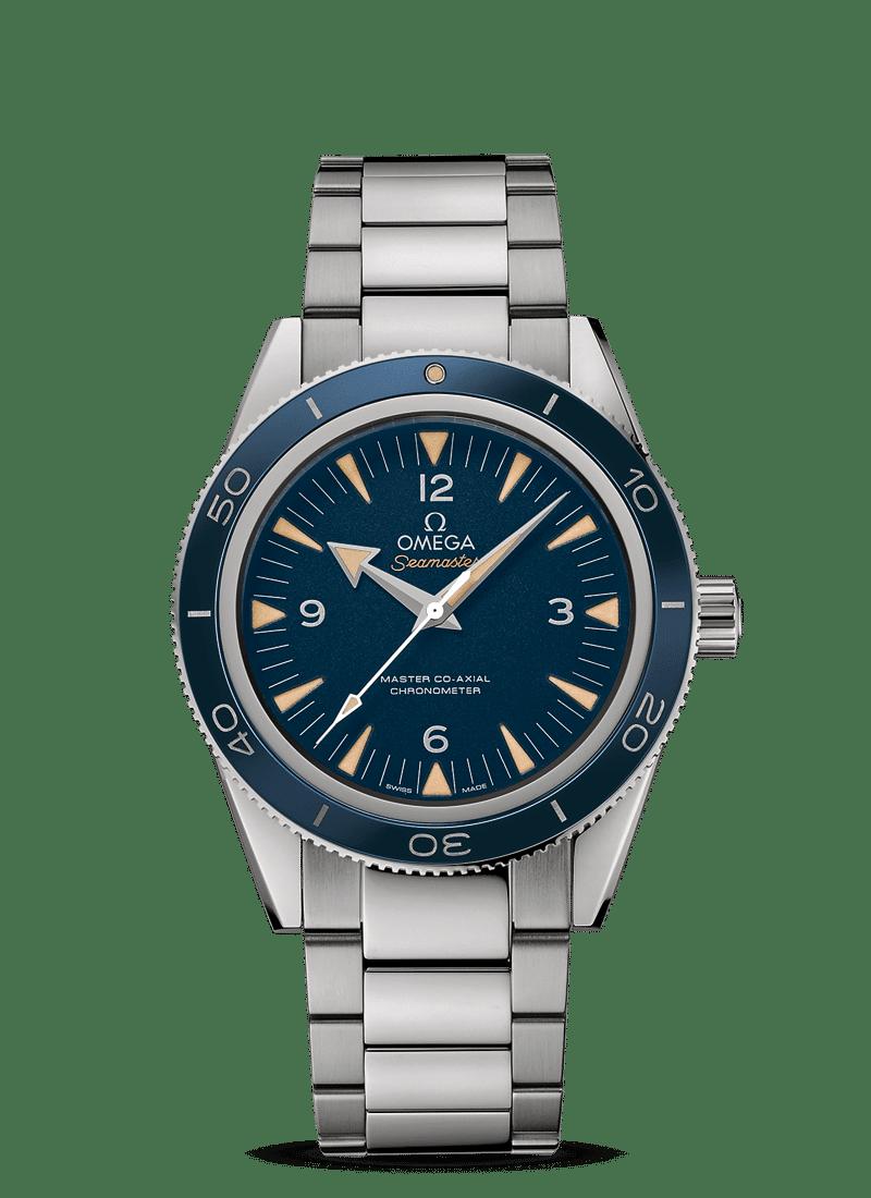 Omega – Seamaster – Seamaster 300 Master Co‑Axial Chronometer 41 mm - Wagner Bijouterie Uhren