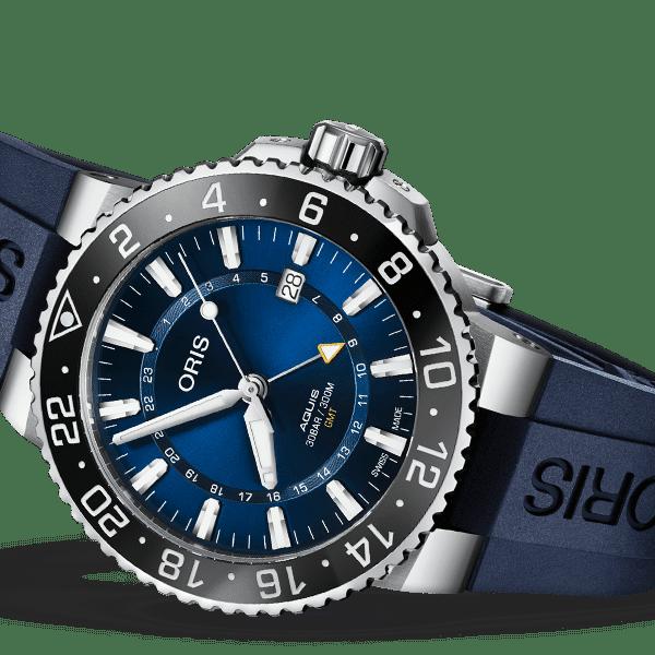 Oris – Aquis – Oris Aquis GMT Date - Wagner Bijouterie Uhren