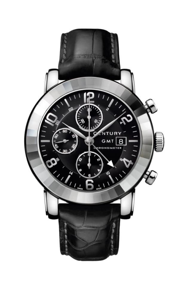 Century – ELEGANCE – Elegance Chronograph  GMT - Wagner Bijouterie Uhren