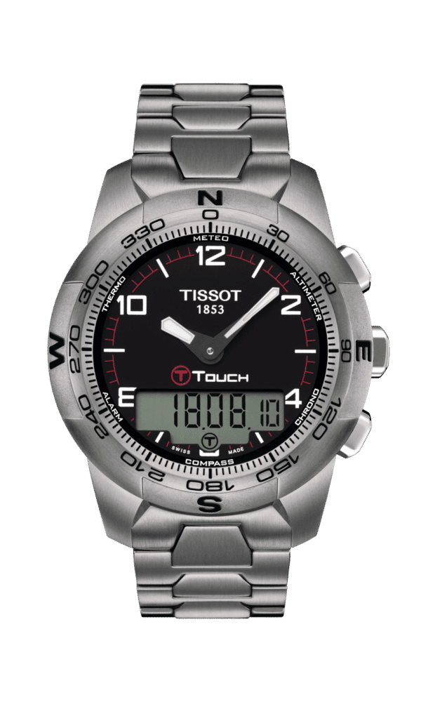 Tissot – T-Touch – T-Touch II Titanium - Wagner Bijouterie Uhren