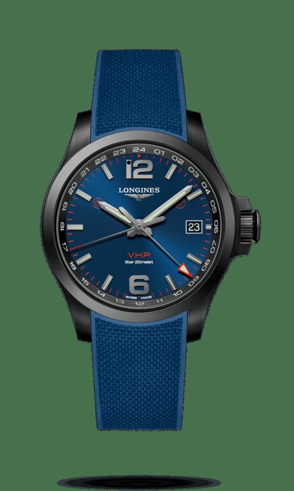 Longines – Conquest – Conquest V.H.P. GMT - Wagner Bijouterie Uhren