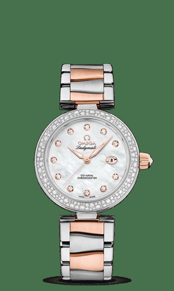 Omega – De Ville – Ladymatic Co‑Axial Chronometer 34 mm - Wagner Bijouterie Uhren