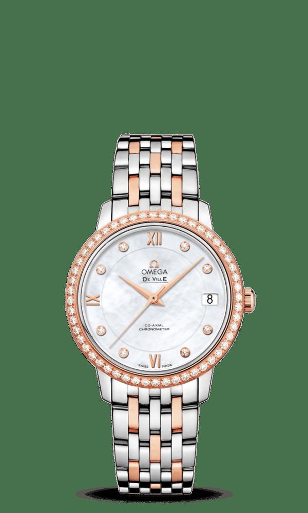 Omega – De Ville – Prestige Co‑Axial Chronometer 32.7 mm - Wagner Bijouterie Uhren