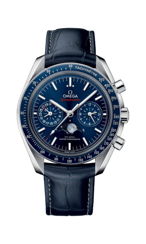 Omega – Speedmaster – Mondphase Co‑Axial Master Chronometer Moonphase Chronograph 44.25 mm - Wagner Bijouterie Uhren