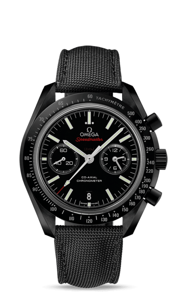 Omega – Speedmaster – Dark Side Of The Moon Co‑Axial Chronometer Chronograph 44.25 mm - Wagner Bijouterie Uhren