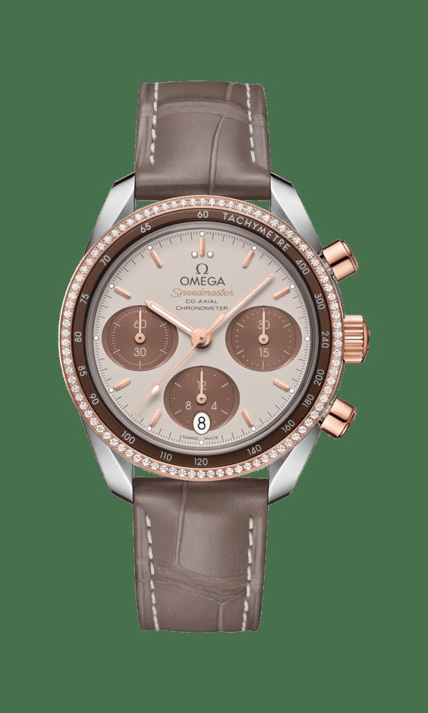 Omega – Speedmaster – Speedmaster 38 Co‑Axial Chronometer Chronograph 38 mm - Wagner Bijouterie Uhren