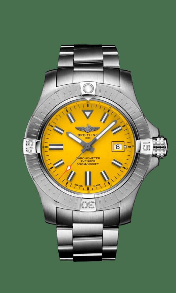 Breitling – Avenger – Avenger Automatic 45 Seawolf - Wagner Bijouterie Uhren