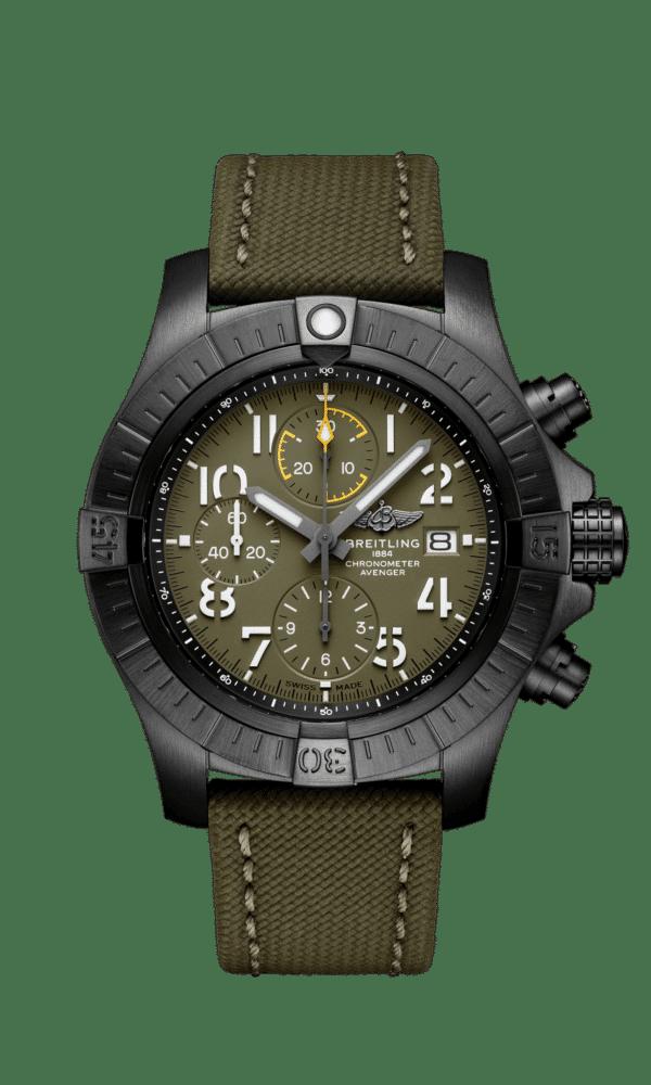 Breitling – Avenger – Avenger Chronograph 45 Night Mission - Wagner Bijouterie Uhren